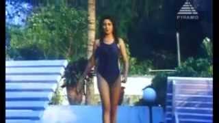 malavika hot swimsuit