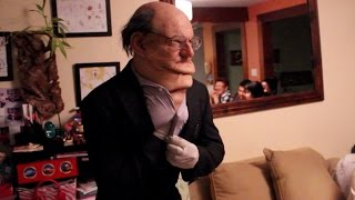 [Old Man Makes Puppets With his Wrinkles - Old Man Home Invas...] Video