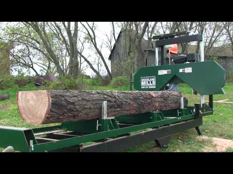 Woodland Mills HM126 Portable Sawmill Promotional Video