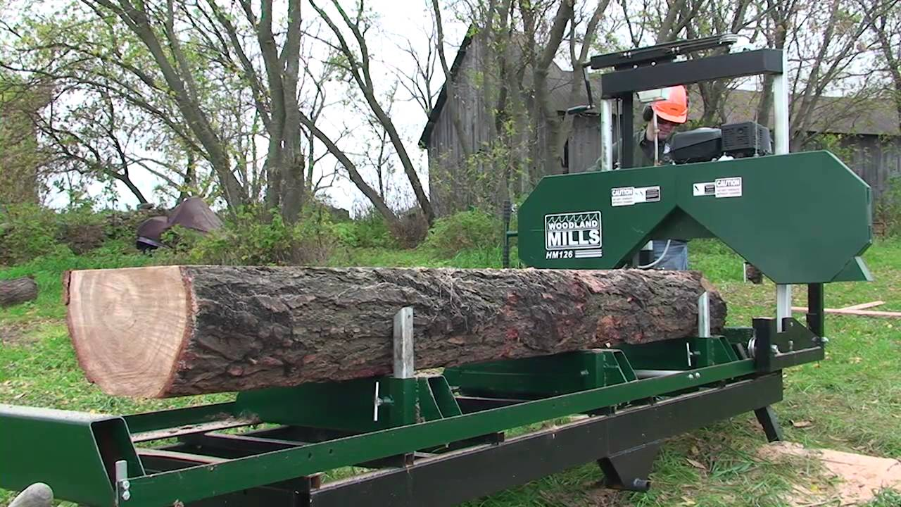 2012 Woodland Mills Hm126 Portable Sawmill Promotional