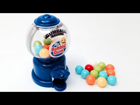 Gumball Machine Gum Candy Machine Gum Ball Machine ガムボールマシーン