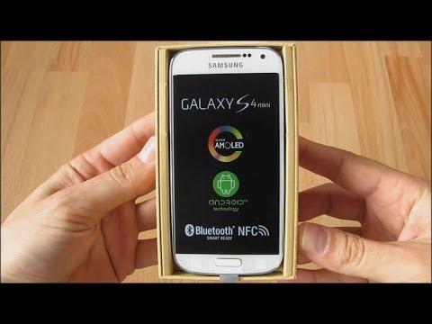 Unboxing Samsung Galaxy S4 mini LTE GT-I9195.
