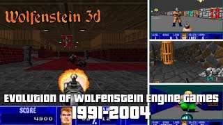 Evolution of Wolfenstein 3D Engine Games 1991-2004