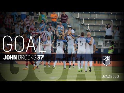 MNT vs. Bolivia: John Brooks Goal - May 28, 2016