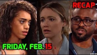 BB Daily Recap   Friday, Feb. 15th   The Bold and The Beautiful Recap   February -2019