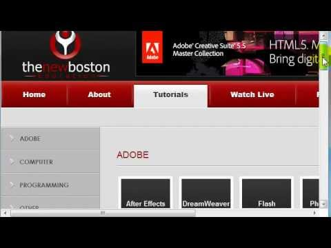 HTML5 Tutorial - 1 - Introduction
