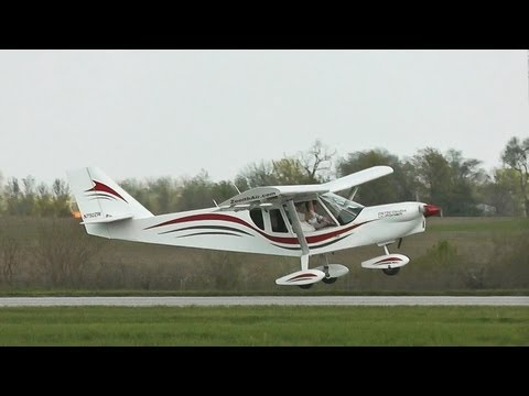 Zenith Aircraft Company's new CH 750 CRUZER light sport kit aircraft