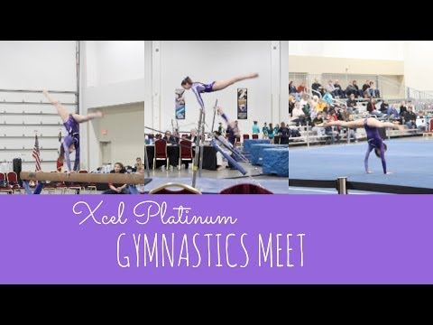 Xcel Platinum Gymnastics Meet 2014