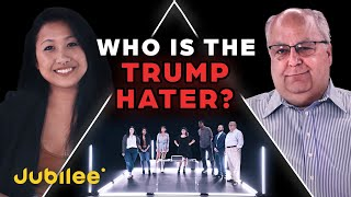 6 Trump Supporters vs 1 Secret Hater