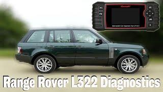 Range Rover L322 - We try Diagnostics