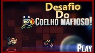 Soul Knight | Desafio do coelho mafioso | Jogando com a skin de pascoa do assassino!!