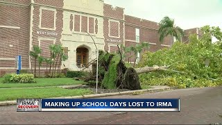 Florida: Schools can cut back year by 2 days due to storm