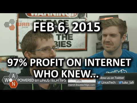 The WAN Show - Time Warner Cable 97% Profit on Internet?? Also Other Things - Feb 6, 2015