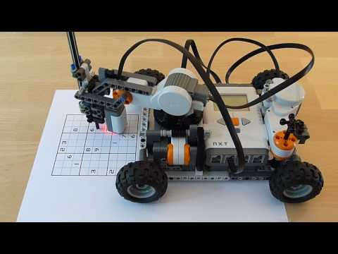 LEGO Mindstorms Sudoku Solver