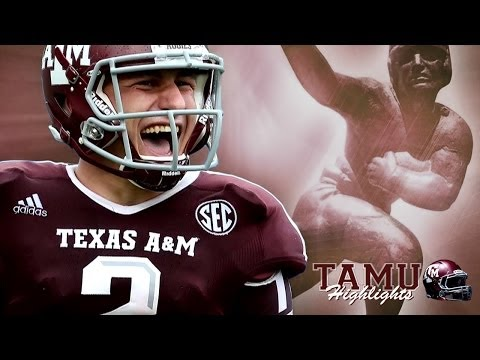 Johnny Manziel Heisman Highlight Video Part 1