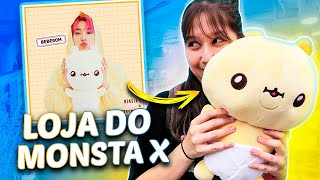 Visitei a Loja do MONSTA X na COREIA