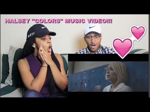 "Couple Reacts : Halsey ""Colors"" Music Audio Reaction!!!"