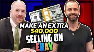He Made An Extra $40,000 Selling on eBay