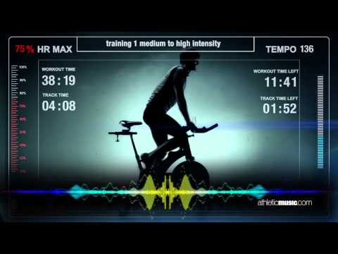 0 indoor cycling music & training   athletic MUSIC   Scarlet ibis