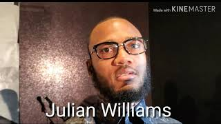 Julian Williams Talks About Winning Hurd's Titles