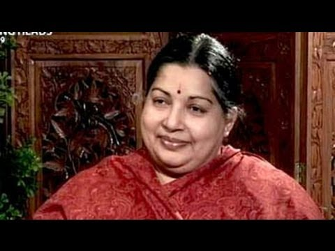 Talking Heads with Jayalalithaa (Aired: January 1999)
