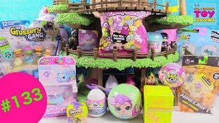 Blind Bag Treehouse #133 Squish DeeLish Hatchimals LOL Surprise Disney Shopkins Toy Review   PSToyRe