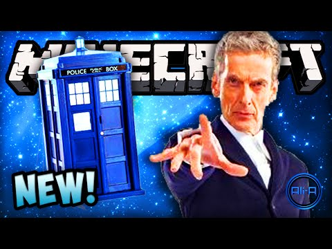 Minecraft Doctor Who - TARDIS. NEW DOCTOR & DALEKS (MODS)! - Minecraft Mod 2014