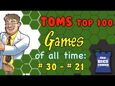 Tom's Top 100 Games of all Time: # 30 - # 21