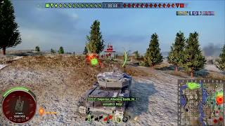 World of Tanks PS4 - Primo Victoria - Ace 3,5k dmg / 1,9k blocked in T10 game
