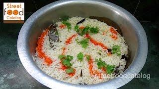 How to Make Chicken Biryani Recipe - Fried Chicken Biryani Recipe - Hyderabadi Biryani - Indian Food