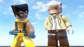 STAN LEE Vs WOLVERINE (BATTLE) - LEGO MARVEL Super Heroes