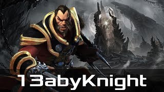 13abyKnight — Lycan, Safe Lane (May 22, 2018) | Dota 2 patch 7.15 gameplay