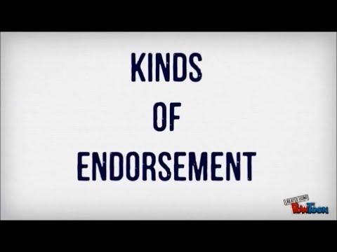 Kinds of Endorsement (Finance 1)
