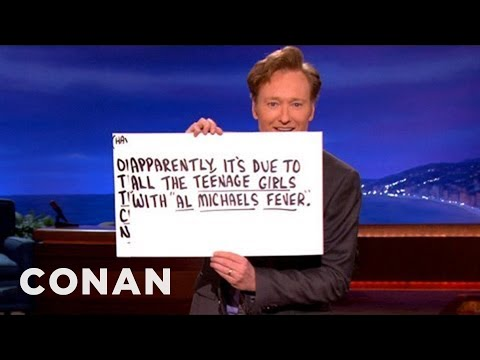 CONAN Monologue 07/30/12 - CONAN on TBS