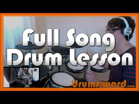 ★ Today (Smashing Pumpkins) ★ Drum Lesson PREVIEW | How To Play Song (Jimmy Chamberlin)