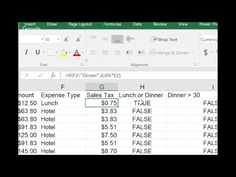 FREE LIVE Computer Lesson of the week - Week 1 - Using the IF function in Excel 2016, 2013, 2010