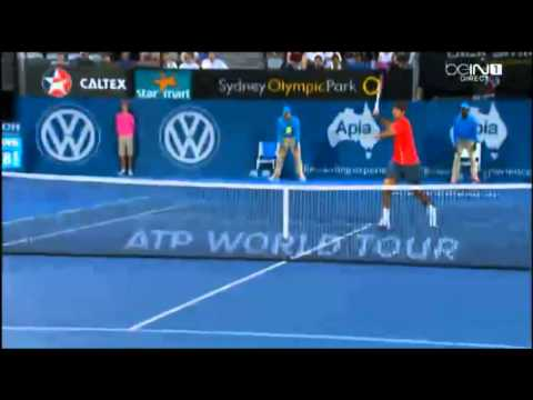 Juan Martin del Potro vs  Bernard Tomic Apia International Sydney 2014 -HIGHLIGHTS - FINAL