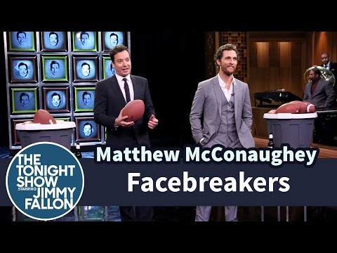 Facebreakers with Matthew McConaughey