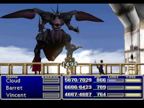 Misc Computer Games - Final Fantasy 7 - Weapon Raid