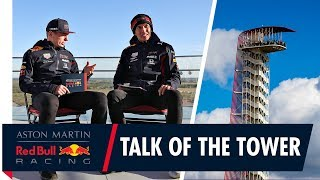 The Talk of the Tower | Max Verstappen and Alex Albon reach new heights at the US Grand Prix