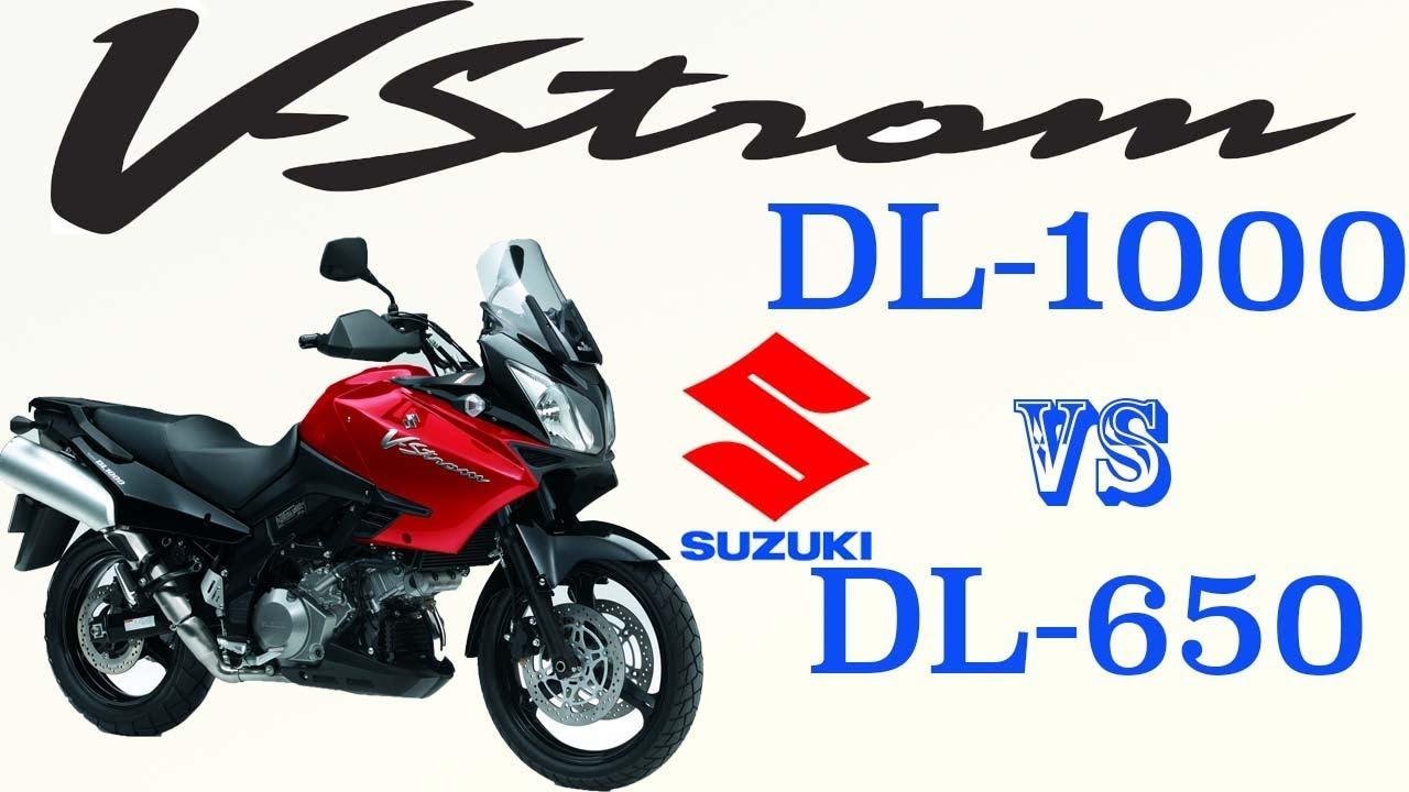 Выбираем Suzuki V-Strom. DL1000 vs DL650.