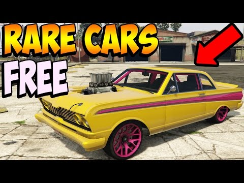 GTA 5 Online - RARE CARS FREE Location 1.36: Secret Storable Vehicles! (GTA 5 Best Rare Cars Online)