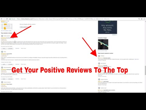 Amazon FBA Product Review Strategy - Hide Your Negative Reviews