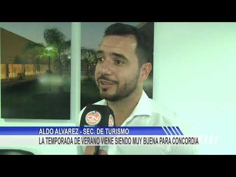 """Aldo Alvarez: """"muy buena temporada turística comparando con el año pasado"""""""