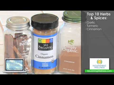 Smart Tips - Top 10 Herbs & Spices by Dr. Allen Peters