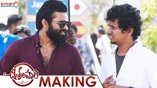 Chitralahari Movie Making   Sai Tej   Kalyani Priyadarshan   Nivetha   DSP   Mythri Movie Makers