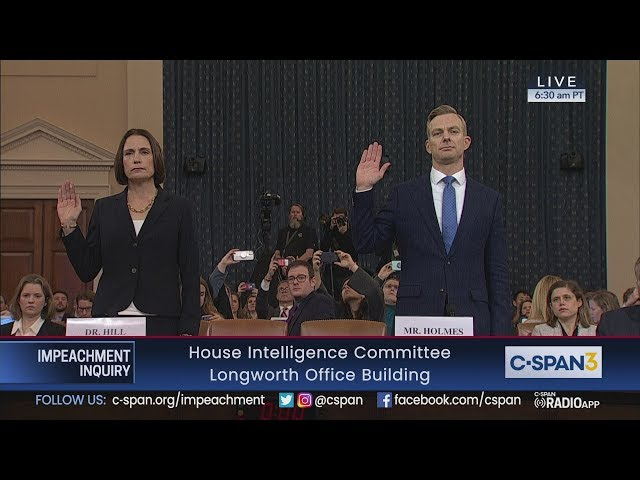 House Impeachment Inquiry Hearing - Hill & Hale Testimony thumbnail
