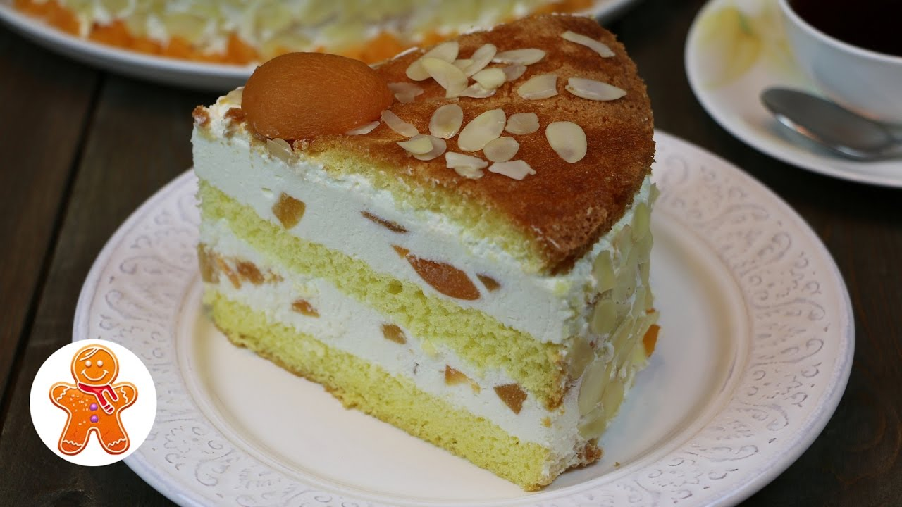 Рецепт творожного торта с фруктами в домашних условиях