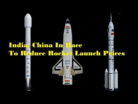 India, China In Race To Reduce Rocket Launch Prices | ISRO | CNSA | SPACEX