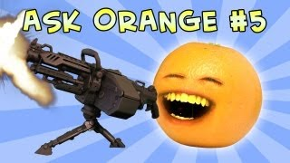 Annoying Orange - Ask Orange #5: Once in a Blew Moon!